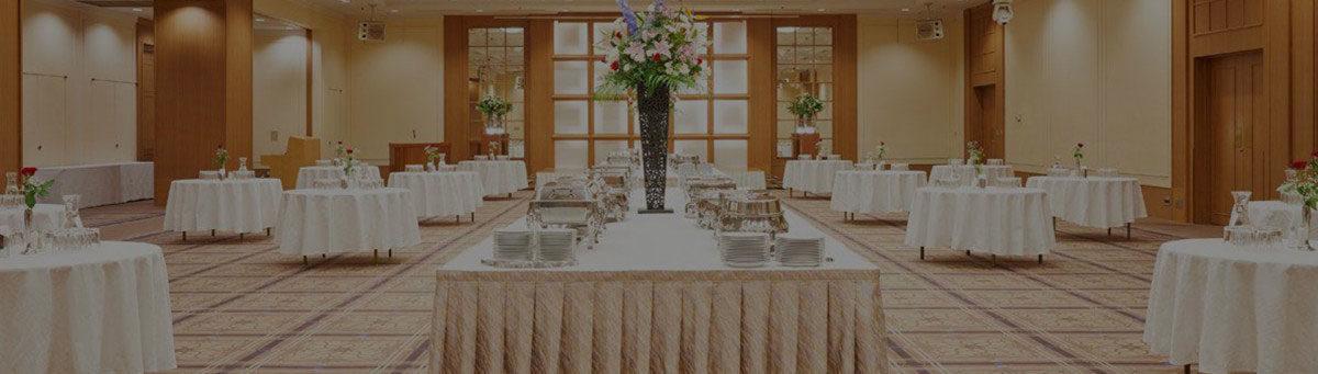 Banquet Buffet Table