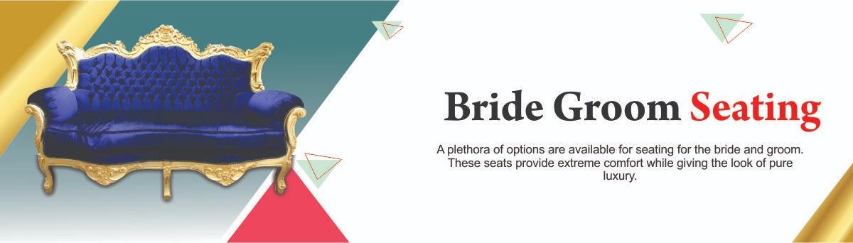 Bride groom seating