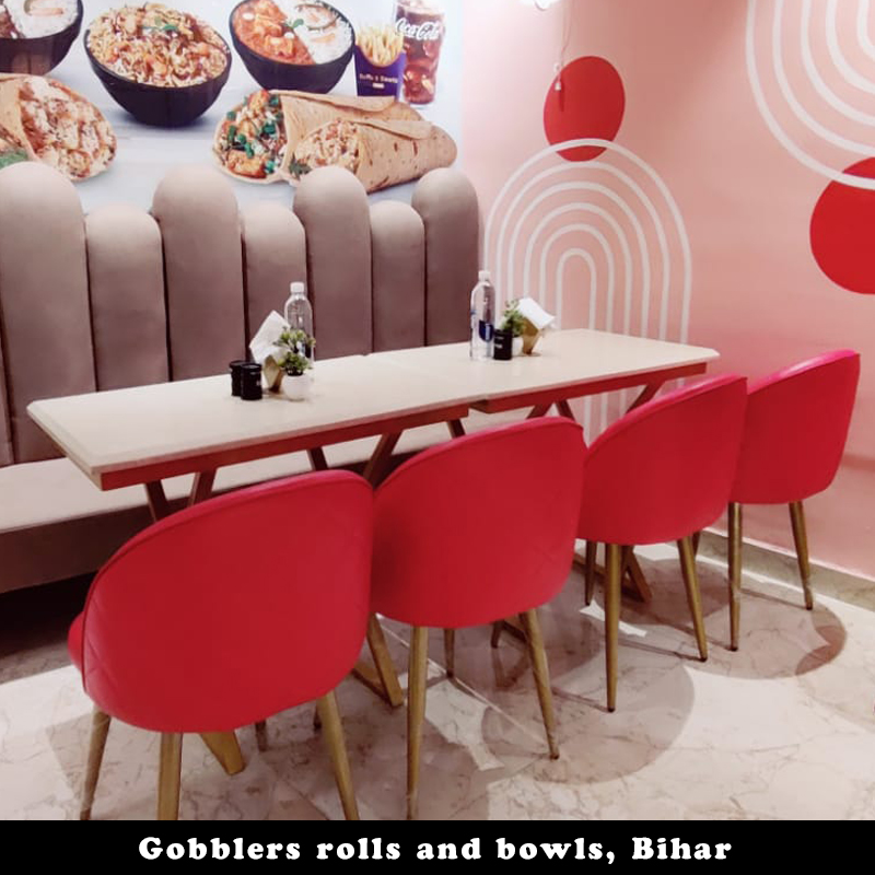 Gobblers rolls and bowls, Bihar